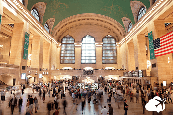 Grand Central cenário de filmes Nova York
