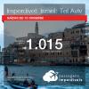 IMPERDÍVEL!! Promoção de Passagens para <b>ISRAEL: Tel Aviv</b>! A partir de R$ 1.015, ida e volta, COM TAXAS INCLUÍDAS!
