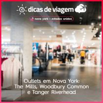 Outlets em Nova York: dicas de impostos, como chegar e onde comer