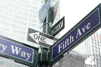 Quinta avenida em Nova York
