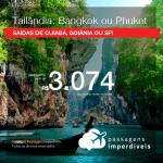 Promoção de Passagens para a <b>TAILÂNDIA: Bangkok ou Phuket</b>! A partir de R$ 3.074, ida e volta, COM TAXAS INCLUÍDAS, em até 5x SEM JUROS! Datas até 2019!
