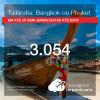Promoção de Passagens para a <b>TAILÂNDIA: Bangkok ou Phuket</b>! A partir de R$ 3.054, ida e volta, COM TAXAS INCLUÍDAS, em até 5x SEM JUROS! Datas até 2019!