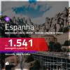 Promoção de Passagens para a <b>ESPANHA: Barcelona, Bilbao, Ibiza, Madri, Malaga, Santiago de Compostela, Sevilha, Valência ou Vigo</b>! A partir de R$ 1.541, ida e volta, C/ TAXAS!
