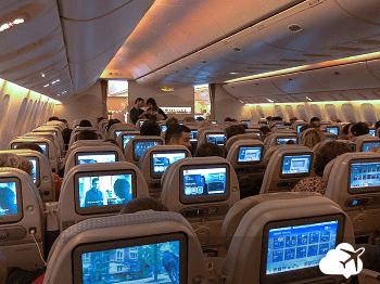 boeing 777 classe econômica emirates