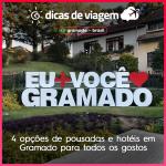 4 opções de pousadas e hotéis em Gramado para todos os gostos