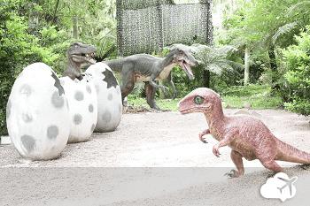 vale dos dinossauros em canela