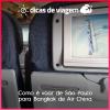 Como é voar de São Paulo para Bangkok pela Air China