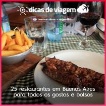 25 restaurantes em Buenos Aires para todos os gostos e bolsos