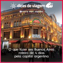 O que fazer em Buenos Aires: roteiro de 4 dias pela capital argentina