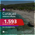 Seleção de Passagens para <b>Curaçao</b>! A partir de R$ 1.593, ida e volta, c/ taxas!