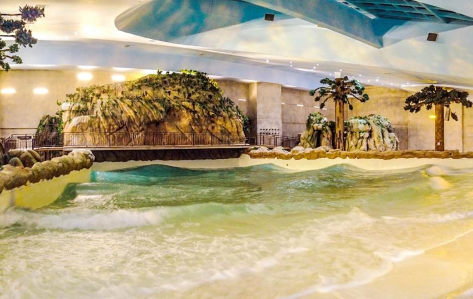 piscina de ondas do acquamotion