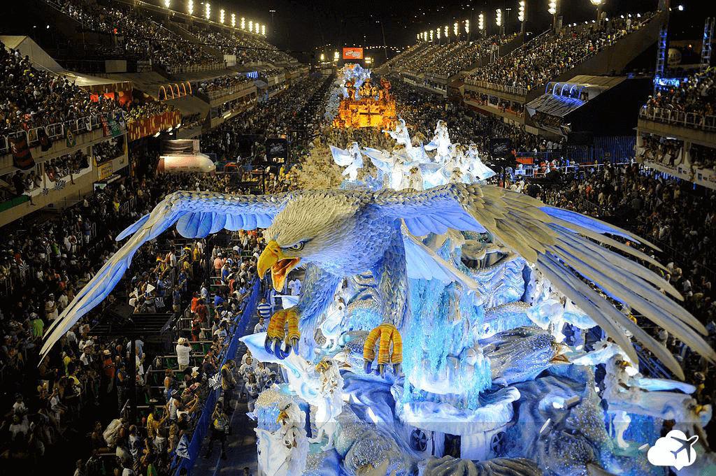 Escolas de samba carnaval do Rio de Janeiro