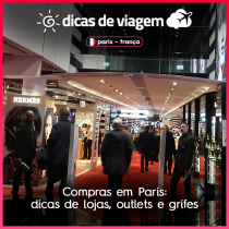Compras em Paris: dicas de lojas, outlets e grifes