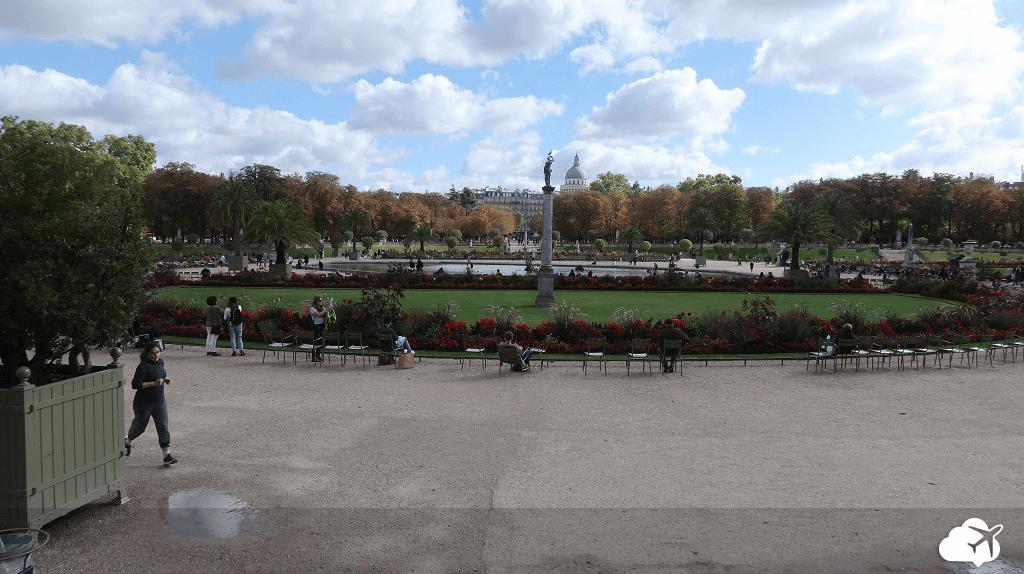 Jardins palácio Luxemburgo