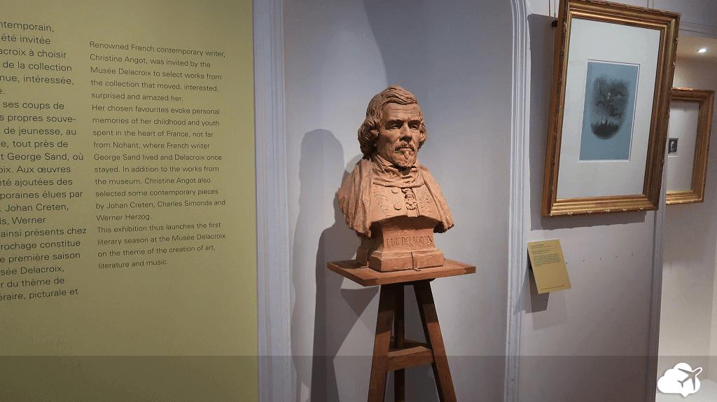 Obra de Eugène Delacroix no museu