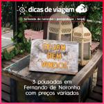 3 pousadas em Fernando de Noronha com preços variados