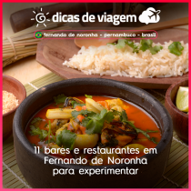 11 bares e restaurantes em Fernando de Noronha para experimentar