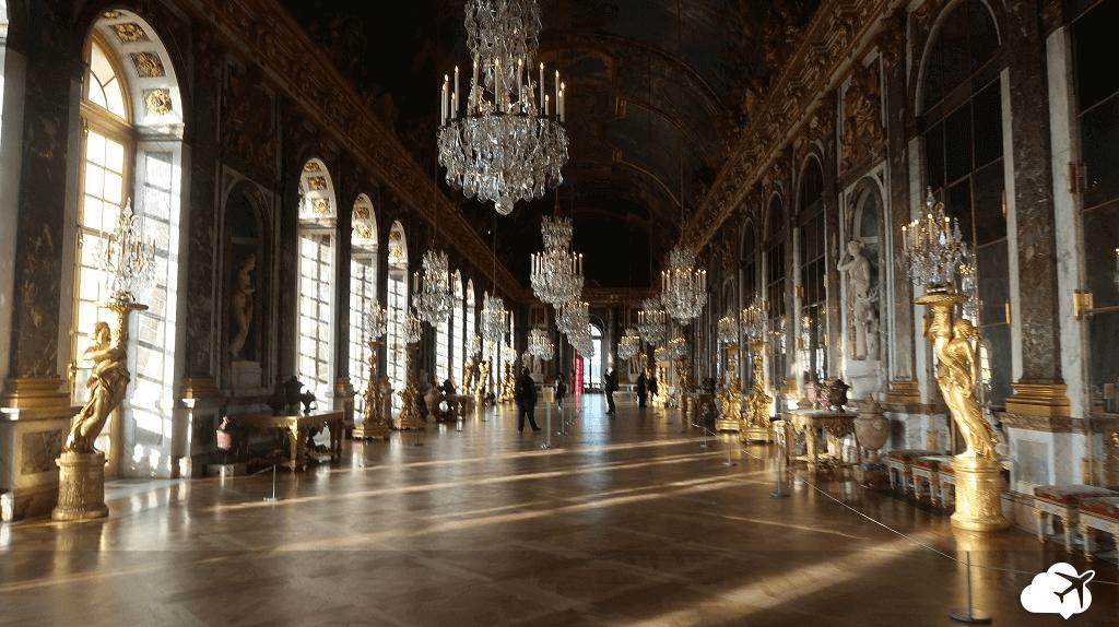 Beleza e luxo no Palácio de Versalhes