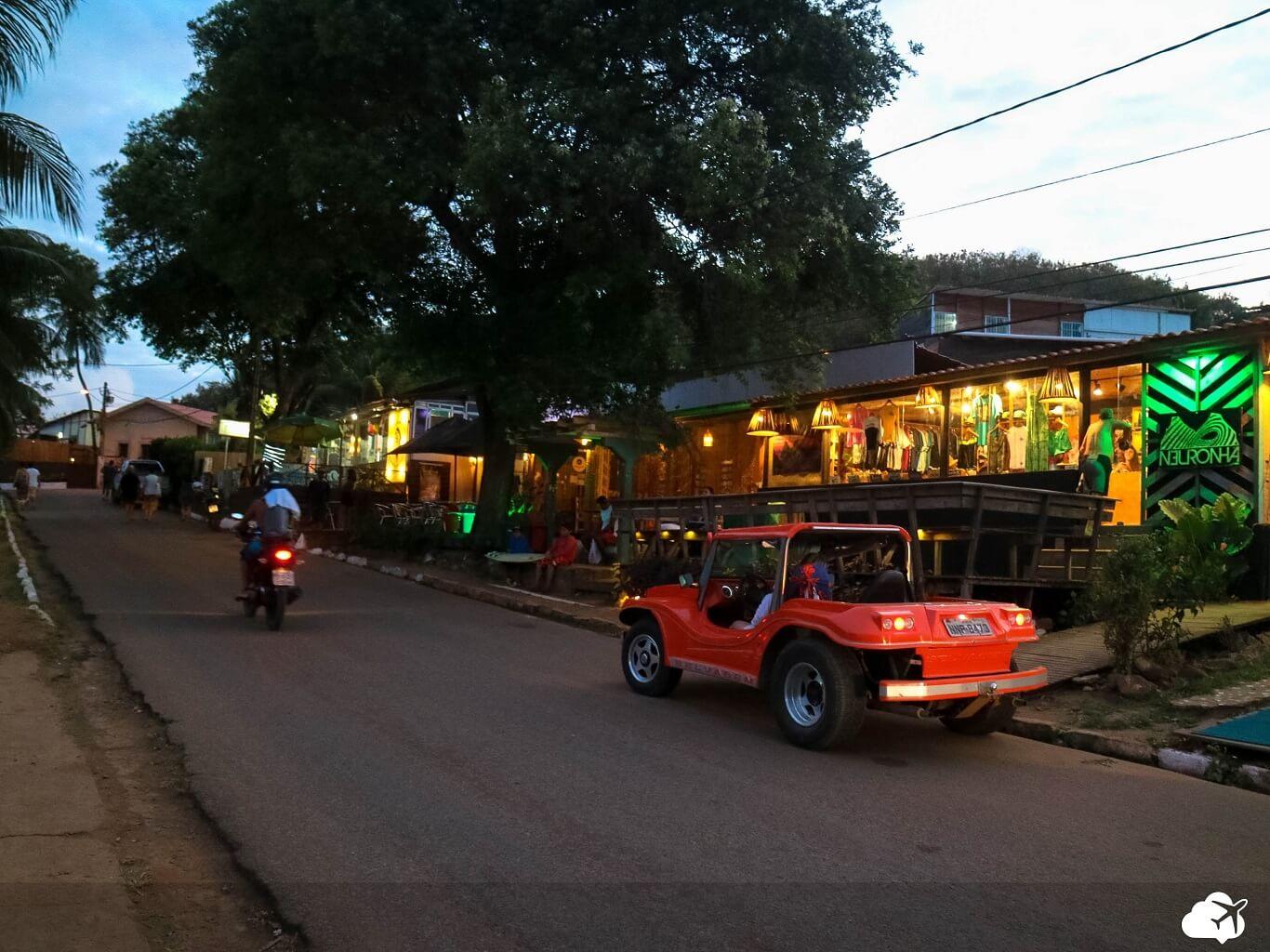 Buggy transporte em Fernando de Noronha