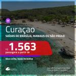 Promoção de Passagens para <b>CURAÇAO</b>! A partir de R$ 1.563, ida e volta, c/ taxas!