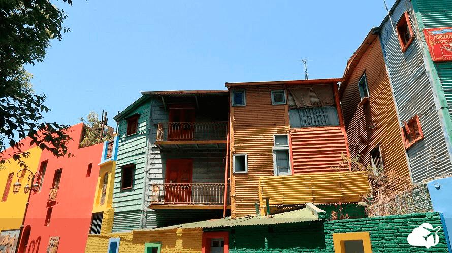 Caminito Buenos Aires casas coloridas