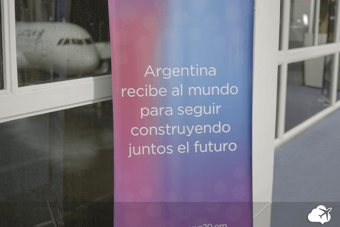 Desembarque aeroporto Buenos Aires