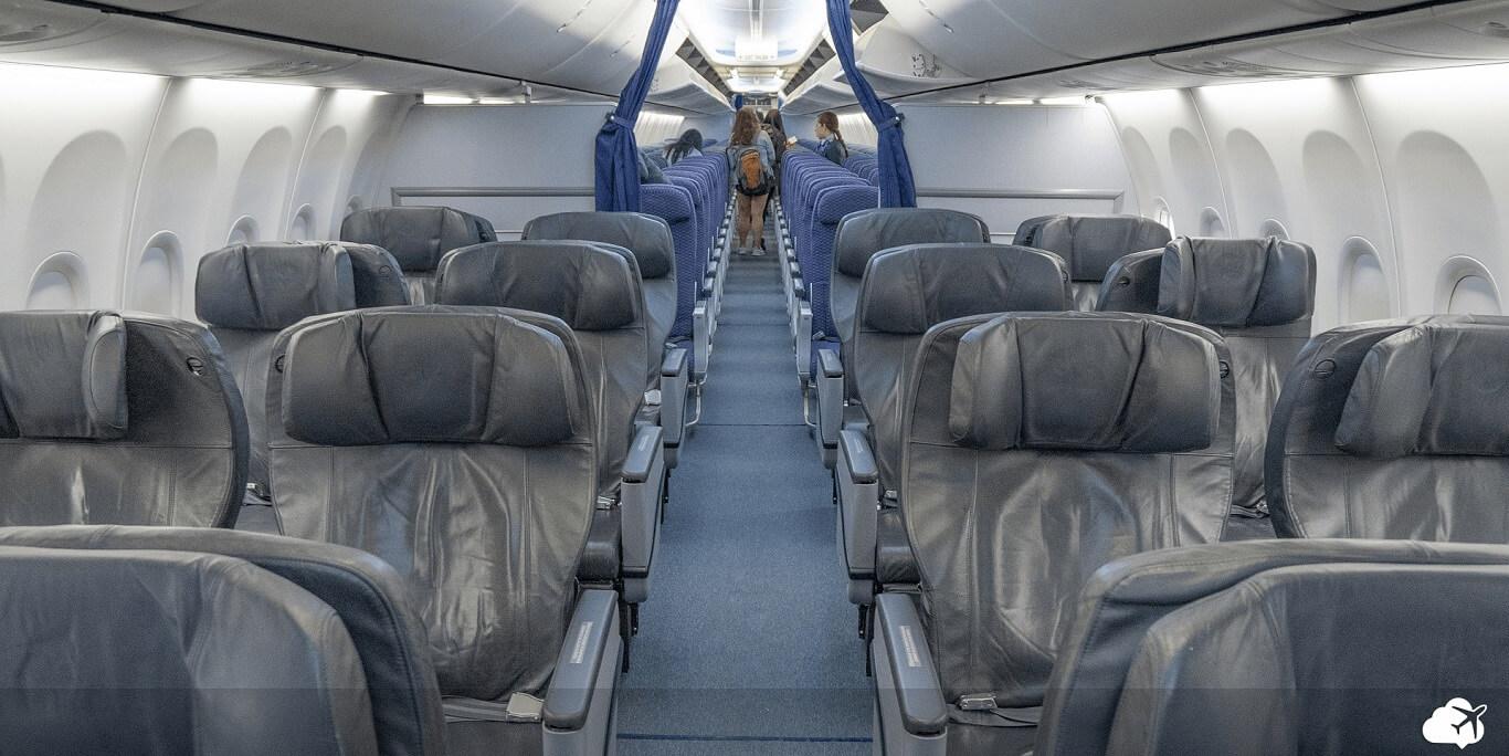 Classe executiva copa airlines 737-800