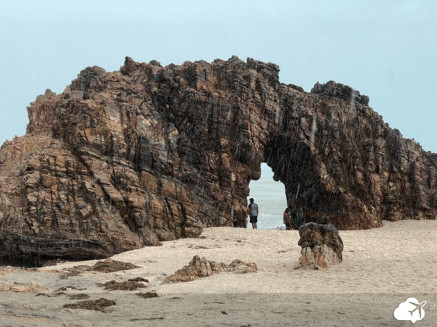 Pedra furada Jeri Jericoacoara