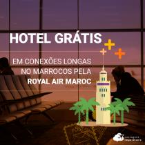 Royal Air Maroc: hotel grátis para conexão longa no Marrocos