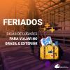 Lugares para viajar nos feriados: dicas no Brasil e exterior!