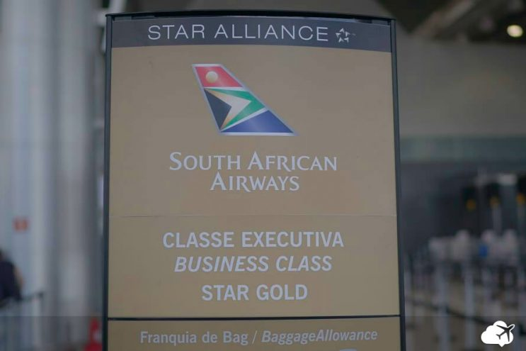 embarque south african airways