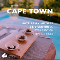 4 hotéis em Stellenbosch e Franschhoek em vinícolas e no centro