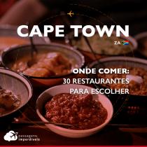 Onde comer em Cape Town: 30 restaurantes para escolher