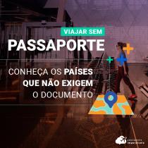 Países que não exigem passaporte para a entrada de brasileiros