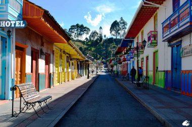 Cidade de Salento, na Colômbia
