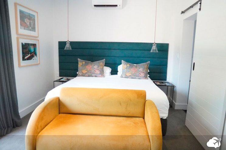quarto no hotel twice central em stellenbosch