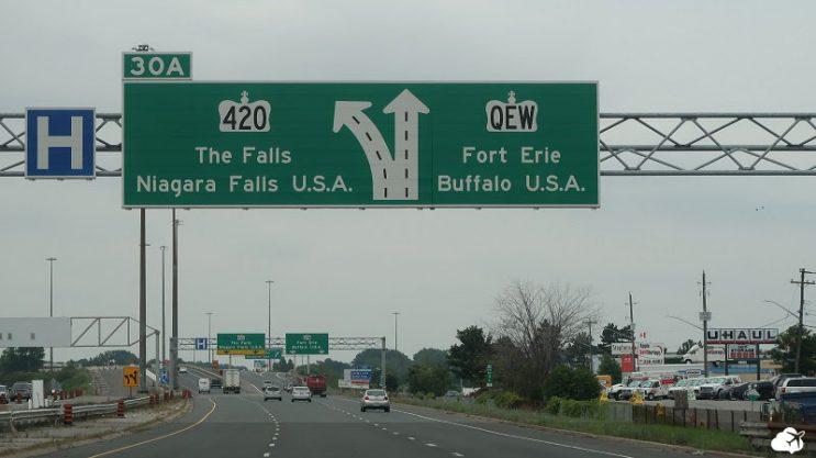 estrada para niagara falls