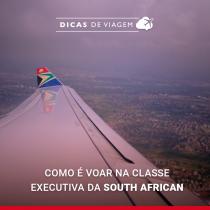 Como é voar para Cape Town na classe executiva da South African