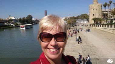 Viajar sonzinho: Renata em sua primeira viagem solo, na Espanha