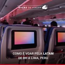 Voar de LATAM para Lima, Peru: como é a experiência?