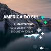 Lugares frios para viajar na América do Sul: esqui, neve e vinícolas
