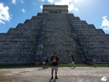 Luís Gustavo, no México - Viajar sozinho