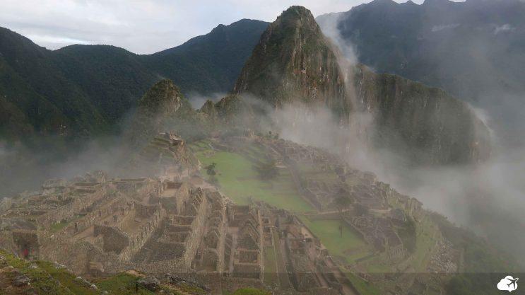 Viajar sozinho: Registro do Guilherme, em Machu Picchu no Peru