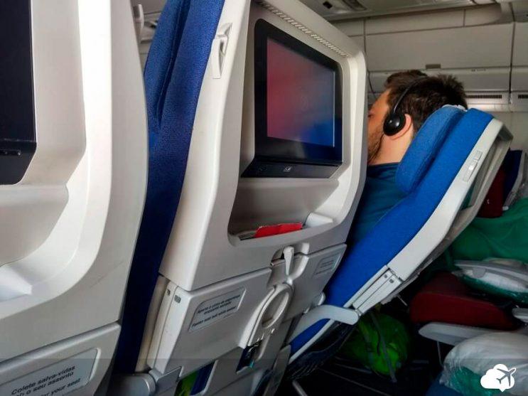 reclinacao assento voo latam lima