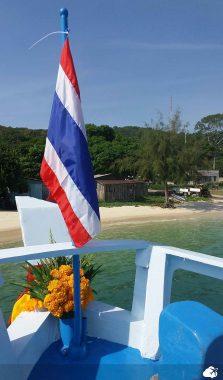 Viajar sozinho: Registro da Lorena, em Koh Samet, Tailândia