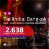 Promoção de Passagens para a <b>TAILÂNDIA: Bangkok</b>, ficando 1 dia em LONDRES a partir de R$ 2.638, ida e volta, c/ taxas!