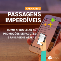 Como usar o aplicativo do Passagens Imperdíveis
