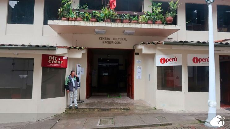 centro cultural aguas calientes ingresso machu picchu