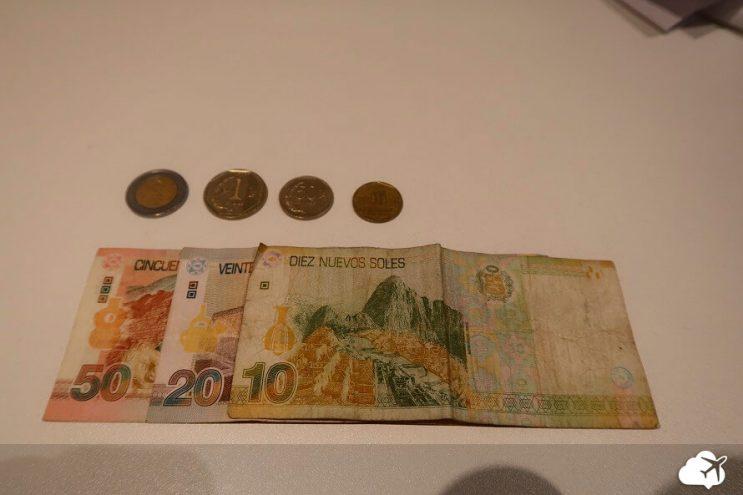 moeda e dinheiro peru