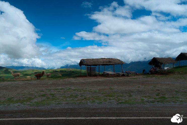 paisagem estrada peru